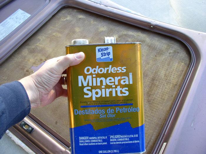 mineral spirit svenska